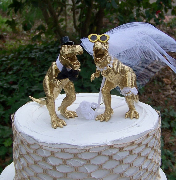dinosaur wedding cake dinosaur wedding cake topper t rex cake topper by 13530