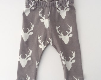 Bucks Knit Cotton Leggings // Preemie-24 mos.