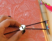 ACRYLIC BAND elastic closure for Hobonichi, fauxbonichi cover