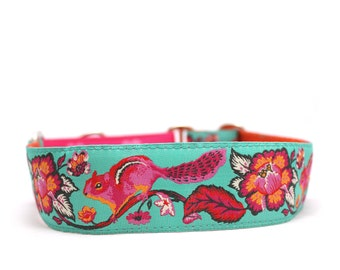 "1.5"" or 2"" Chipmunk martingale or buckle dog collar"