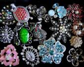 15 Jeweled Magnets. Fancy Neodymium-SALE Variety Box