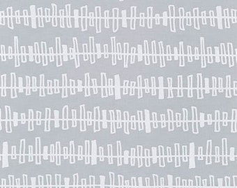 Blueberry Park fabric, Gray fabric, Karen Lewis Textiles, Best Seller, Quilting, Stripe fabric, Kite Strings in Silver , Choose your cut