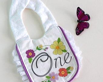 1st Birthday Bib for Baby