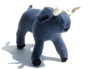 A Big Blue Wool Ox ala Paul Bunyon