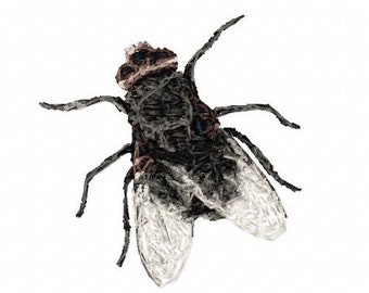 The Fly Machine Embroidery Design...3073
