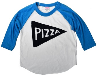 LTD Edition : Kids Pizza Party Raglan Baseball Jersey shirt, kids gift tmnt funny t-shirt, American Apparel modern child, kid gift, cool kid