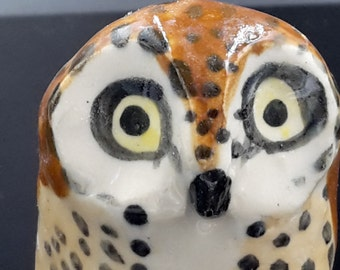 Little Brown Owl Figurine
