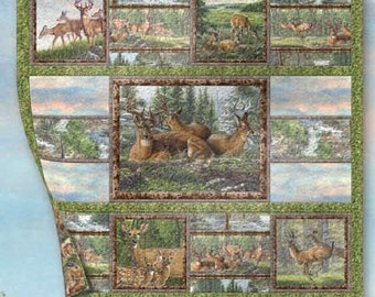 A Place of Peace Deer Quilt