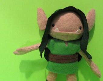 Kids toys stuffed plush monster troll fairy Little Goblins