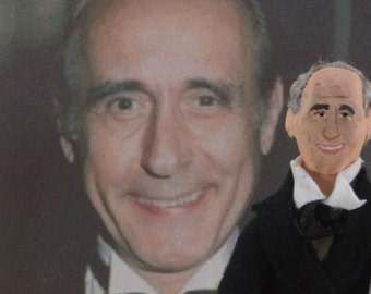 Henry Mancini Music Composer Doll Miniature by Uneek Doll Designs