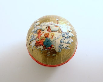 Vintage Christmas Decoration Christmas Ornament Candy Container Angels Western Germany
