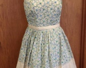 Vintage 1950's Embroidered Sundress XS