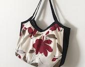 SALE - 50% OFF - Granny Bag with Gusset // Shoulder Purse -  Bremer Garnet