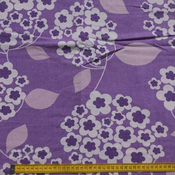 Seventies vintage childrens fabric 60x50 cm from for Vintage childrens fabric