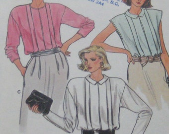 Vogue Blouse Pattern 9136