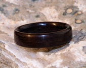 Leadwood Wooden Ring (In Stock Size 8.75; 6mm Wide) // Wood Wedding Ring // Man's Wooden Ring