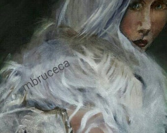 Figurative Oil Painting 12x16