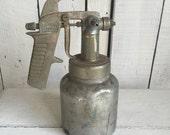 Vintage Paint Gun - Speedy W.R Brown Corp - Industrial Metal Finging