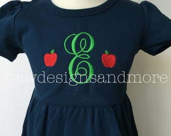 Apple Ruffle Dress