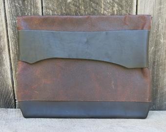 Charcoal Woodland Light Traveler Eco Leather Case