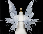 Fairy Wings - Alice in Wonderland - Vorpal Sword - Adult sized - Handmade - Perfect for costume, fairy photography - Helen design