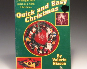 Stained Glass Pattern Book - Quick and Easy Christmas - Valerie Hixon