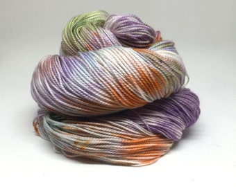 Dyed to order Hand Dyed Yarn - Pixie Puke