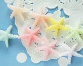 8 pcs Pastel Starfish Cabochon (19mm21mm) DR515