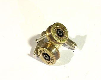 Bullet Casing 45 automatic cufflinks