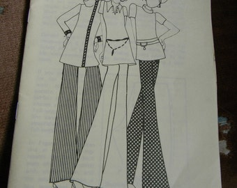 Vintage WSU Booklet Pants For Women, E.M. May 1970