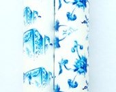 Wrapping Paper Roll, Ginger Jar, Two Rolls of Gift Wrap, Blue and White, Classic, Gift Wrapping, Traditional, All Occasion, Original Design
