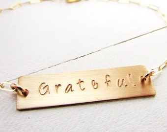 Personalized Bracelet | Gold Bar Jewelry | Custom Name Charm | Name Bracelet | 14K Gold Filled Eriadesigns