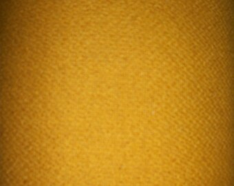 Mustard Yellow, As-Is Wool for Rug Braiding, Applique, Halloween, Thanksgiving, Harvest decorations, etc.