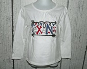Texans NFL School Spirit Football Mascot Embroidered T-Shirt