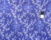 April Cornell Music Collection PWAC015 Meadow Song Periwinkle Cotton Fabric By The Yard