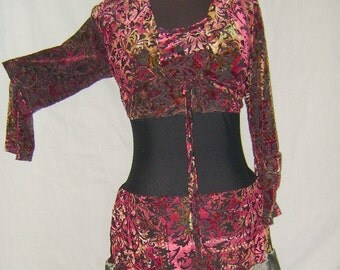 Belly Dance Dress size 14 one of a kind cover up dress
