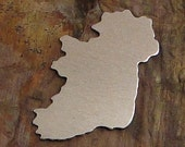 "20 Deburred 1 1/2"" IRELAND *Choose Your Metal* Aluminum Brass Bronze Copper Nickel Silver Stamping Blanks"