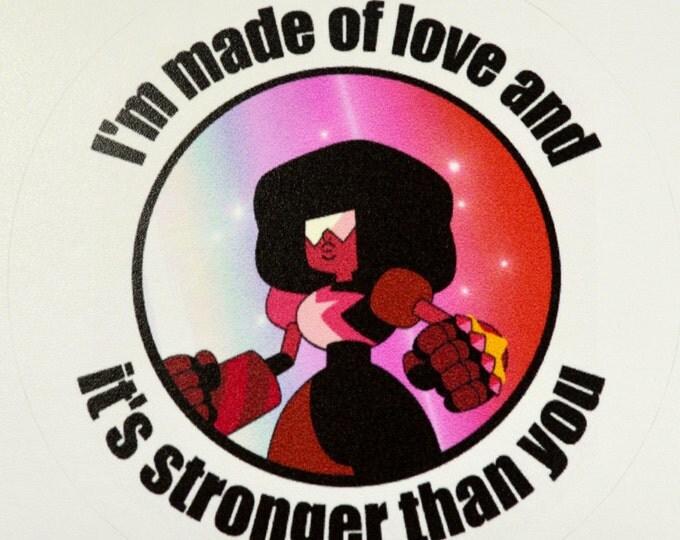 Garnet Steven Universe Stronger Than You Sticker