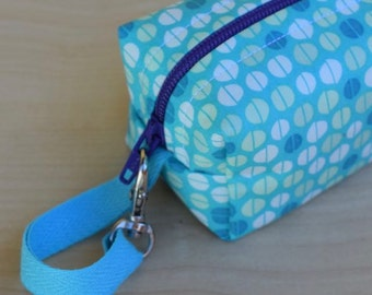 Blue Kamari Mini (Pacifier Pouch)