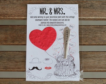 MR. & MRS. Flower/Marker Kit (E0494)