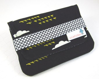 Sanitary Pad Holder, Pads Pouch, Cloud Print, Sanitary Napkins Bag, Period Pads, Pad Wallet, Feminine Products, Period Kit, Discreet Case