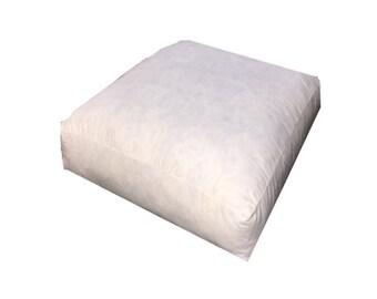 Eco Friendly Box Pillow Inserts, Box Edge Pillow inserts, Custom Box Pillow Inserts, 14x24x5, Personalized Pillow Forms