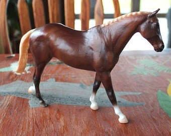 Breyer classic sorrel Might Tango from Show Jumping set #61058 2012-4 - toy pony for custom bait