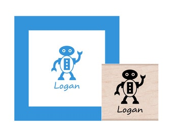 Robot Personalized Rubber Stamp