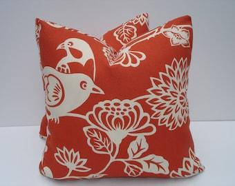 burnt orange pillows ? Etsy