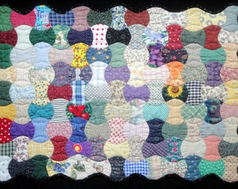 Vintage Charm Quilt  Art Wall Hanging - Charm Is Deceptive
