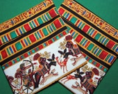 Lined Sandwich Bag-- Egyptian Chariot Race Style 2