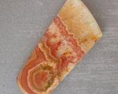 Freeform Artisan Cabochon Rhodochrosite