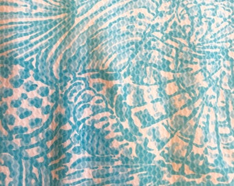 Lilly Pulitzer Shorely Blue Sea Cups - Do Not Purchase, please read listing details