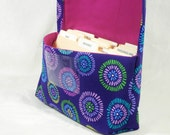 Ready to Ship Coupon Organizer Holder Seed Circles Heavy Twill Cotton Fabric